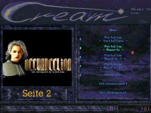 Cream Mag, Ausgabe 4 unter DOS.