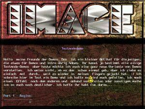 Image, Ausgabe 5 unter DOS